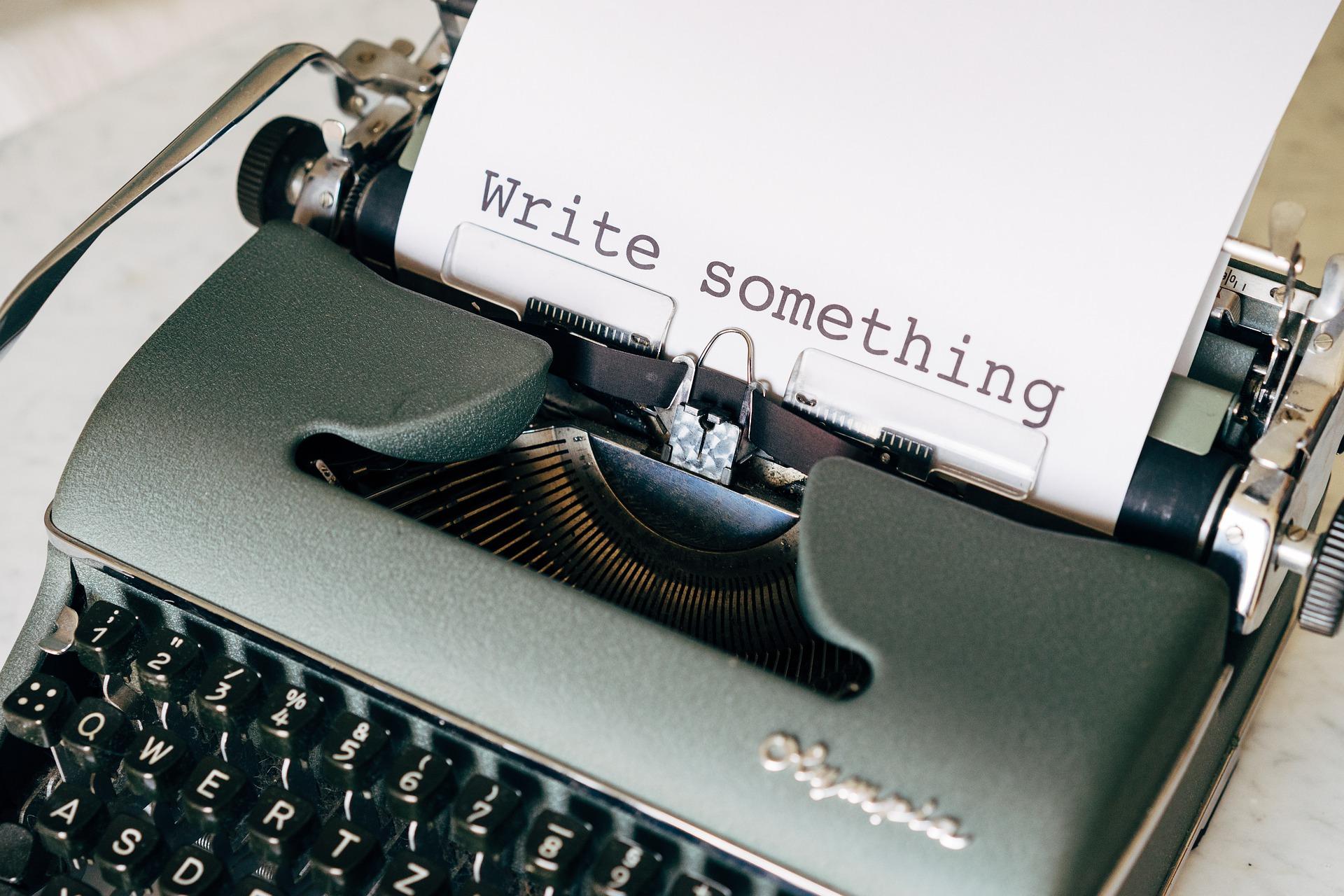Napiš něco obsah