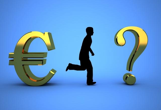 postavička hledající euro-zisk