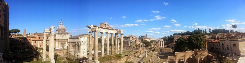 historická část Římu